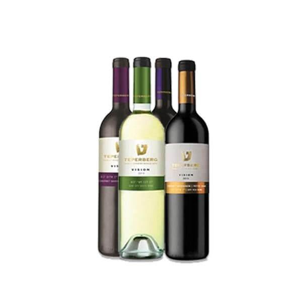 4 יינות טפרברג VISION